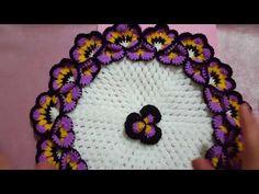YouTube Crochet Doilies, Crochet Flowers, Crochet Bouquet, Dorset Buttons, Saree Tassels, Laddu Gopal, Crochet Flower Tutorial, Crochet Videos, Crochet Baby