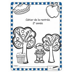 Cahier d'activités de la rentrée scolaire - 2e année First Day Of School Activities, 1st Day Of School, School Plan, School Ideas, French Worksheets, Beginning Of Year, Core French, French Resources, French Immersion