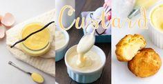 吃一口輕盈美味的卡士達醬~4步做出甜點必備的好搭檔(゚∀゚)