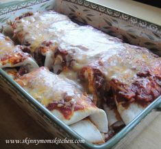 Freezer Recipe - Chicken Enchiladas - I would use Joseph's Multigrain Flatbread instead of the Tortillas
