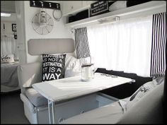 Home Sweet Motorhome: winter break is finally over ;-) and a desire for new decoration