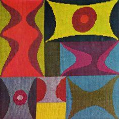 O. T.(Croisement de droites, plans), 1942 by Sophie Taeuber-Arp. Constructivism. abstract