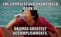 Obama's greatest accomplishments