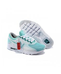 best service 7a17b bf19b Nike Air Max Zero Qs Running Shoes Mint Green White UK