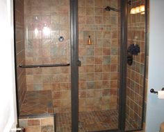 shower layout. colors are ugly but bathroom is oriented similar to ours