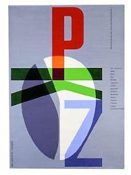 Carlo Vivarelli   PKZ - Original layout/on black canvas
