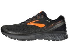 bca5e2fc27b7d Brooks Ghost 11 GTX Men s Running Shoes Black Orange Ebony