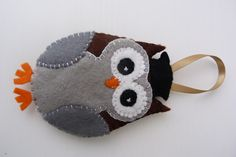 Ragamuffins Handmade Home: Wise Owl Decoration