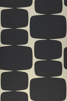 Read the full title Vintage Geo Vintage Wallpaper Retro Funky Home Decor, Sold Per Full Roll Only - 3 Different Colors - 20.47in x 33ft
