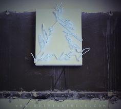 """""""I Like It, What Is It?"""" 2012, Neon Art by Olivia Steele"""