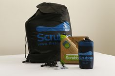 The Scrubba Washbag helps travelers stay clean with a close washing system that can be used almost anywhere. Washes as well as a machine and way better than a sink, and it can even be used when on a wilderness adventure when water can be scarce. Folds up to the size of a pack of cards or can be used as a laundry bag when you are done washing your clothes. Scrubba Travelers Kit 2013
