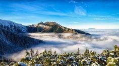 Tatra Mountains, mountains, clouds, fog, hiking, landscape, landscape mountains,