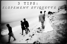 The Runaway Couple:  Tips for Elopement Etiquette | Regina-Marie Photography | #elope #intimate wedding