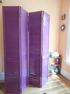 What you can do with an old shutter is remarkable. Check out local yard sales, thrift stores or your own home for great finds toplanyour next at home project. I can't wait to add one to my bedroom!