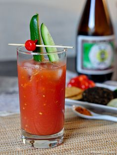 Japanese take on a bloody Mary: The Bloody Meari by 84thand3rd.