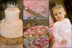 Such a cute cake--I wonder if it is too early to start the princess obsession?