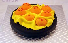 Tarta Bolas de Dragón Hadas de Azúcar / Dragon Ball Fondant cake