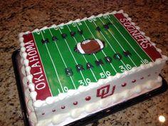 OU Sooners Football Cake