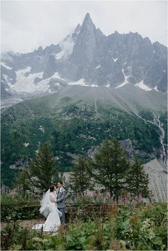 Mountain Photoshoot | Image by Florence Grandidier Maid Of Honour Dresses, Maid Of Honor, Outdoor Wedding Reception, Wedding Day, French Wedding Style, Photoshoot Images, French Alps, Train Rides, Amazing Destinations