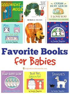 Great recommendations for the best books for babies