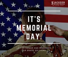 Let us take inspiration from the brave soldiers to become good citizens of our nation…..Jackson & Partners thanks all of our servicemen and women in the present and past for their selfless contribution toward country and countrymen. Sending heartfelt wishes on Memorial Day.#jacksonandpartners #veteransstrong #memorialday Three Day Weekend, Good Citizen, Virtual Assistant Services, Holiday Market, Fight For Us, Fallen Heroes, Happy Memorial Day, Liposuction, Brave