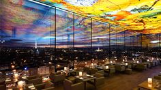 Take in near panoramic views of Vienna from the soaring glass tower of Sofitel Vienna Stephansdom. Designed to mimic the Gothic architecture of the nearby St. Stephens Cathedral