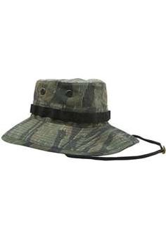 d4f3de85b9462 Vintage Tiger Stripe Vietnam Era Boonie Hat ! Buy Now at gorillasurplus.com  Military Fashion