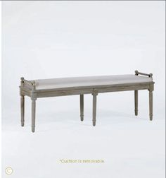 Gabby Home Francis Bench - Perfect for the end of a bed!