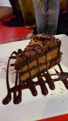 Dave and Buster's chocolate cake