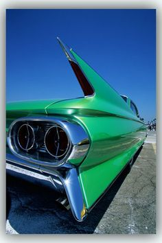 ART PRINT Poster Tail Fin of 1961 Cadillac