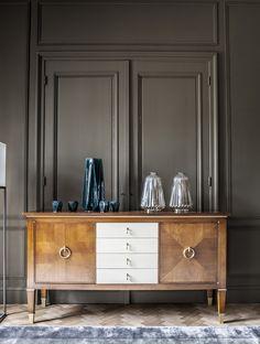 from Livingstone 2019 Style Français, Sideboard, Showroom, House Design, Cabinet, Storage, Furniture, Livingstone, Home Decor