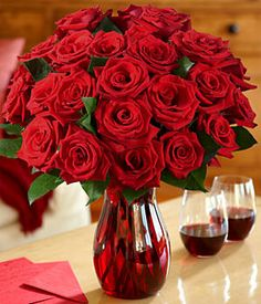Roses are my favorite flower :) mainly the red ones :) a guy gets me a dozen of these he has won my heart for sure ;)