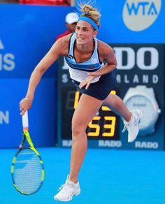 Monica Puig Monica Puig, Tennis Players Female, Athletic Women, Tennis Racket, Beautiful People, Fitness, Sports, Woman, Girls