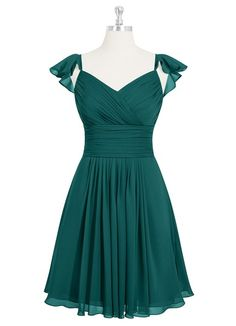 Shop Azazie Bridesmaid Dress - Mia in Chiffon. Find the perfect made-to-order bridesmaid dresses for your bridal party in your favorite color, style and fabric at Azazie. Summer Bridesmaid Dresses, Summer Dresses 2017, Azazie Bridesmaid Dresses, Homecoming Dresses, Bridesmaids, Girls Fashion Clothes, Fashion Dresses, Turquoise Dress Outfit, Custom Dresses