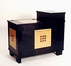 chest.  Design: Josef Hoffmann  Manufacturer: Portois & Fix, Vienna, 1901