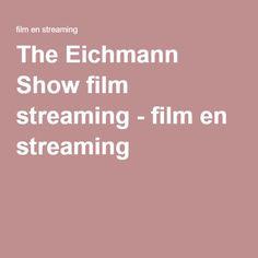 The Eichmann Show film streaming - film en streaming