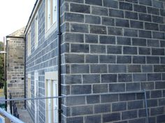 Blackened Punch-Faced Walling stone