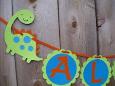 Dino Name Banner  can also be made as it's by SophieAndEmmaStudio, $14.00