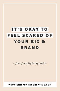 It's okay to feel sc