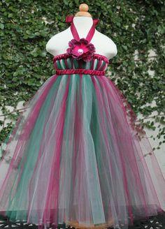Vintage Christmas Tutu Dress