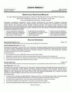 bar manager resume objective - Sample Access Management Resume