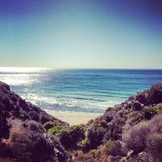 Secret beach near Playa del Cala, la manga club