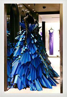 Zoe Bradley - vestido de papel