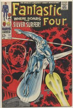 FANTASTIC FOUR #72  MARVEL COMICS GROUP  MARCH 1968  $.12