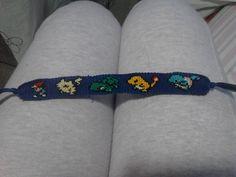 friendship bracelet pattern-maybe make into a cross-stitch pattern?hmmmm...