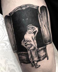 Search inspiration for a Blackwork tattoo. Boy Tattoos, Badass Tattoos, Black Tattoos, Body Art Tattoos, Tattoos For Guys, Sleeve Tattoos, Black Work Tattoo, Tattos, Tattoo Sketches