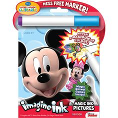 """Mickey Mouse Magic Ink W/Marker -  Bendon Publishing Intern - Toys""""R""""Us"""
