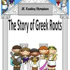 The Story of Greek Roots is a simple picture book authored to introduce the concept of Greek and Latin roots.