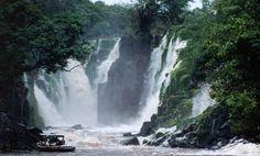 Cachoeira Santo Antônio - Laranjal do Jari, Amapá - Brasil