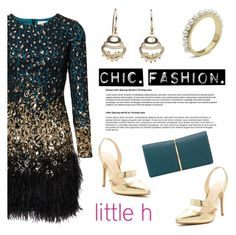 """""""Chic fashion by Little h Jewelry"""" by littlehjewelry ❤ liked on Polyvore featuring Nina Ricci"""